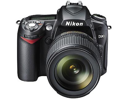 Nikon D90 http://www.nikon-image.com/products/slr/lineup/d90/ ※画像提供元 nikon-image.com